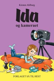 Ida og kameraet forside