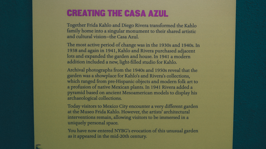 photo essay frida kahlo and casa azul at the nybg which was frida s childhood home first fridaynybgbykirstenalananx5001