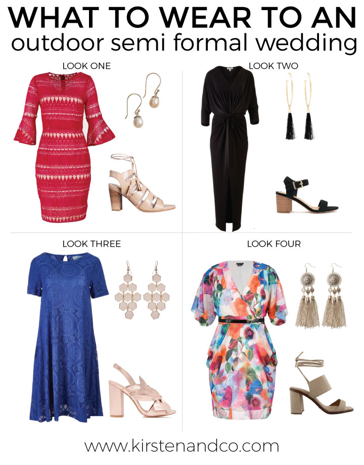 What to wear to an outdoor semi formal wedding  Kirsten and co