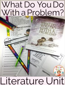 Use What Do You Do With a Problem to teach students about growth mindset and finding opportunities in problems.