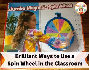 Spin Wheel Ideas for the Classroom: Have you used a spin with with your students in your classroom? This easy to use tool is fun and engaging for students and can be utilized in so many different ways!