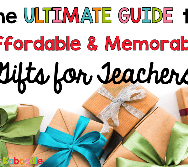 Are you looking for new teacher gift ideas that won't break the bank, but will also wow your child's teacher? These affordable teacher gifts are perfect for any occasion. Whether it's teacher appreciation week, the holidays, or the end of the school year, I've got you covered with a list of quick and easy gifts that any teacher will love.