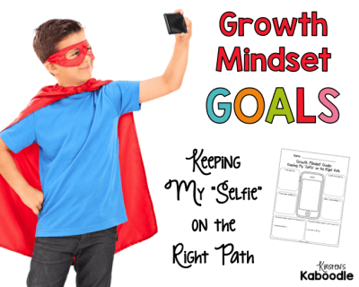 Do you need a growth mindset goal setting activity? These free printables will help your students reflect on their growth mindset strengths and goals.