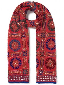 East mirrored scarf