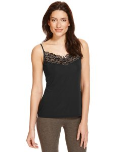 marks black lace cami