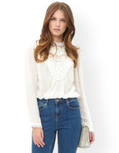 monsoon ivory blouse