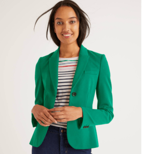 great blazer for online meetings