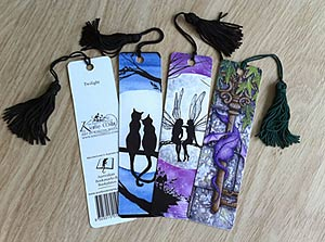 Licensed Fairy and Fantasy Art Bookmarks