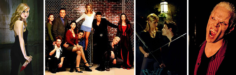 Buffy the Vampire Slayer, Buffy, Buffy Cast, Angel, Spike
