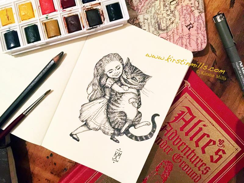 Lewis Carroll's Letter on Kindness & New Illustration for World Kindness Day