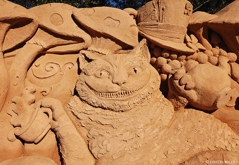 Alice in Wonderland Sand Sculpture Exhibition – Sydney, Australia, 2018