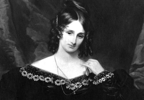 Mary Wollstonecraft Shelley, Portrait of Mary Shelley