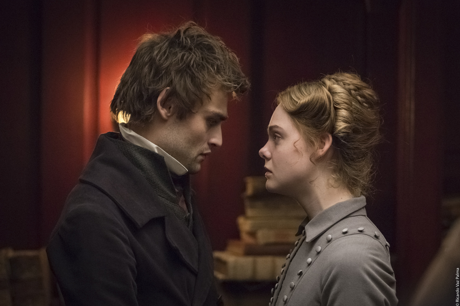 Percy Shelley, Mary Shelley, Douglas Booth, Elle Fanning, gothic, Romantic, film, review