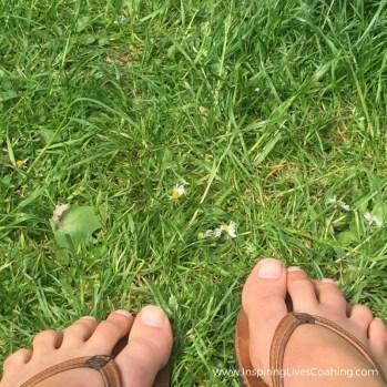 Nurture yourself - Feet