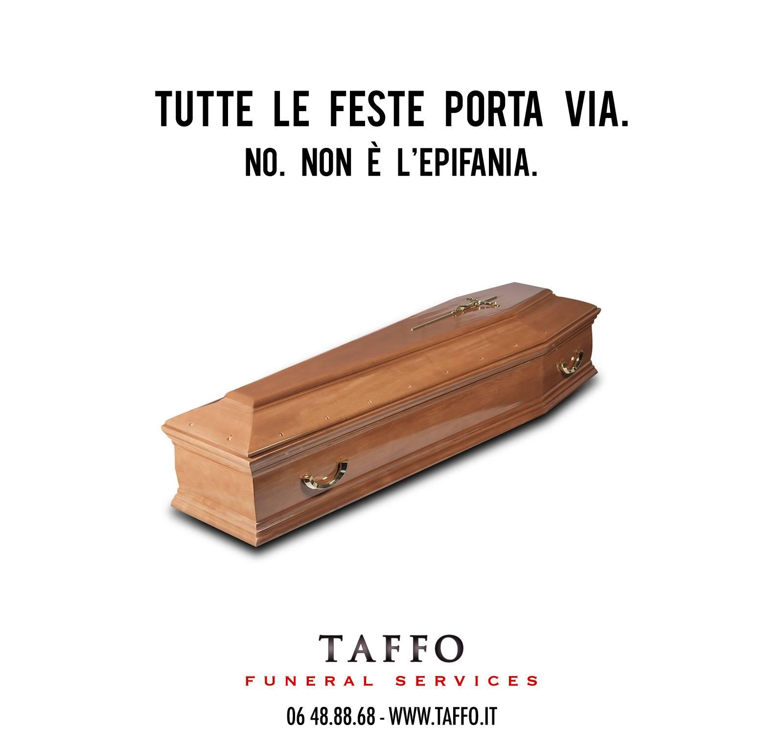 Agenzia Pubblicitaria Marketing Social  TAFFO Funeral