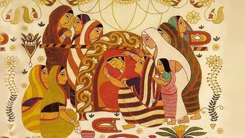 প্রেমাচর,বর-কনে দেখা এবং বিয়ে পর্ব