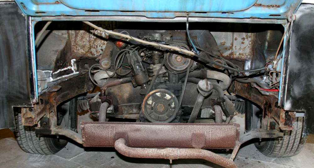 medium resolution of 1972 vw dual carb engine diagram