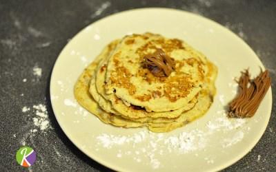 Faites plaisir votre palais avec ces pancakes banane-oeuf, sans gluten, sans lactose, sans farine