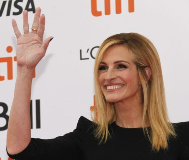 Toronto Canada September 08 American Actress Julia Roberts Attends The Premiere Of Film