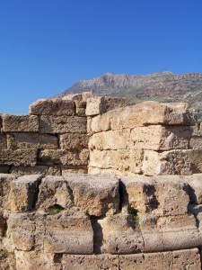 Wall at Ancient Phalasarna