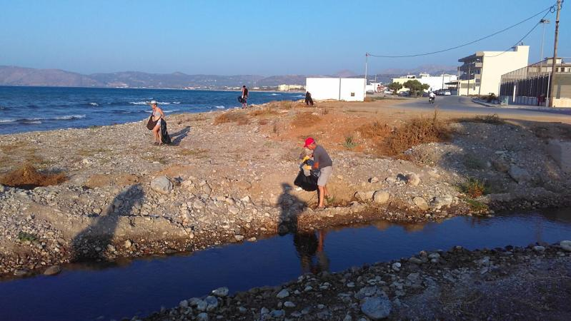Cleaning Kissamos Beaches