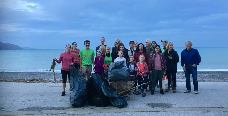 Beach Cleaning Kolymbari 18th November