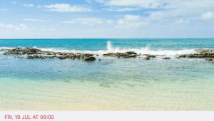 Anaskela Beach cleaning