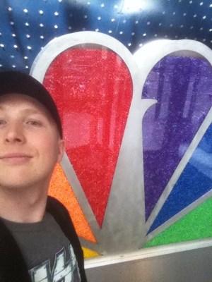 Ingången till NBC.