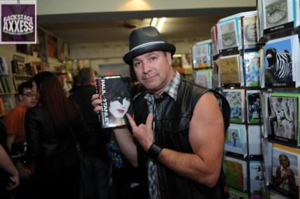 Paul Stanley Book Signing Bookends Ridgewood, NJ 4-9-14 050