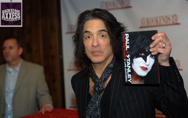 Paul Stanley Book Signing Bookends Ridgewood, NJ 4-9-14 078