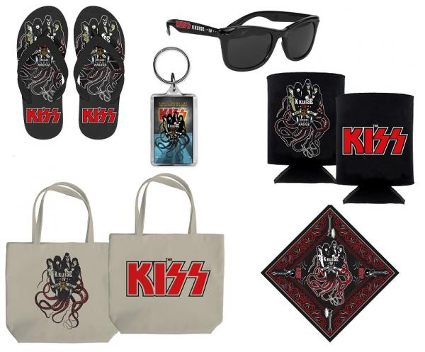 KISS Kruise merch