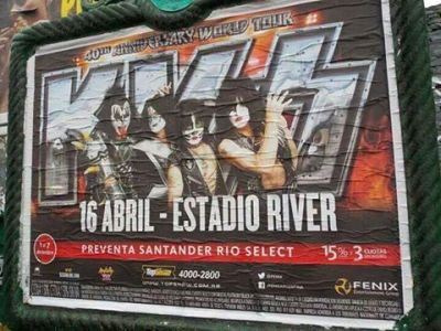 River Plate poster