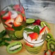 Strawberry Kiwi Infused Water