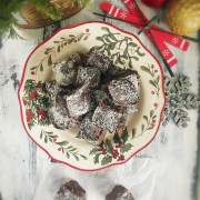 Peppermint and Coconut Chocolate Fudge