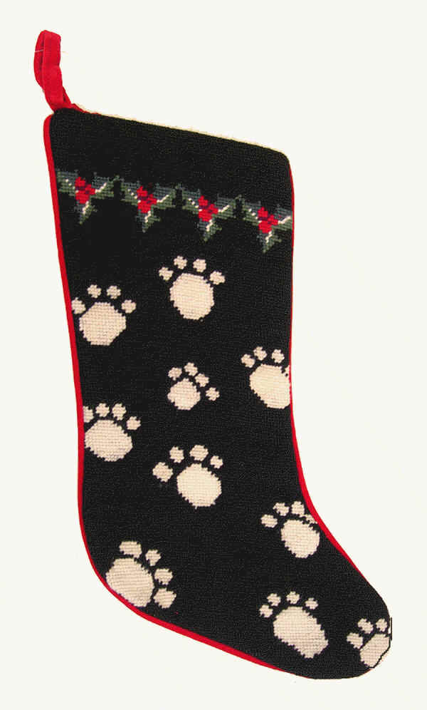 Dog Bones Christmas Stocking for Dogs and Other Dog Breed Holiday Stockings