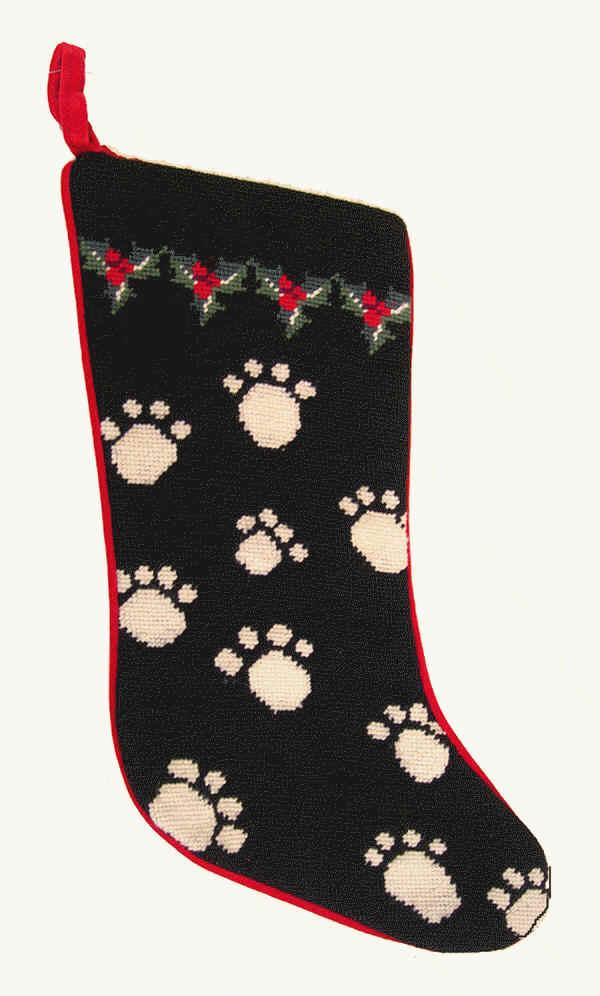 Dog Bone Christmas Stocking.Dog Christmas Stocking Christmas Day
