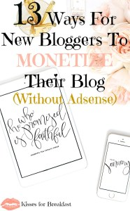 13 Ways For New Bloggers To Monetize Their Blog