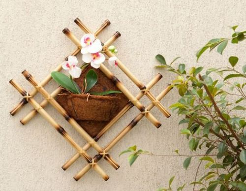 diy bamboo frame