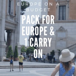 Make your carry on a useful time capsule wardrobe for Europe