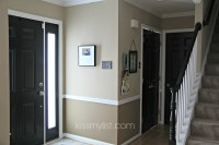Painting interior doors black | Kiss my List