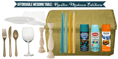 Affordable-Wedding-Table-Breakdown-Rustic-Modern