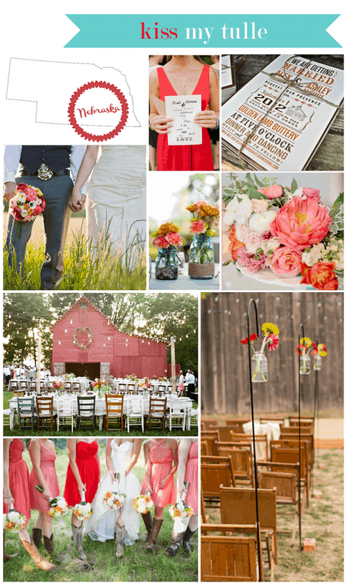 Nebraska State Wedding Inspiration