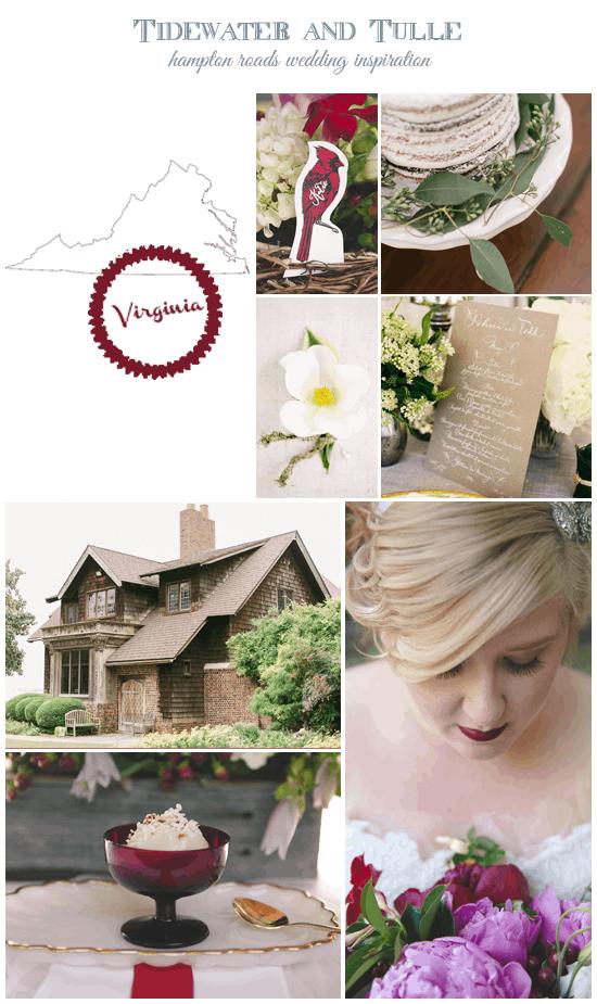 Virginia State Wedding Inspiration