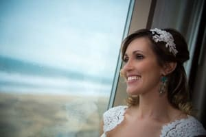 A modern beach romance wedding shoot inspired by the state of Virginia and the amazing Virginia Beach oceanfront.
