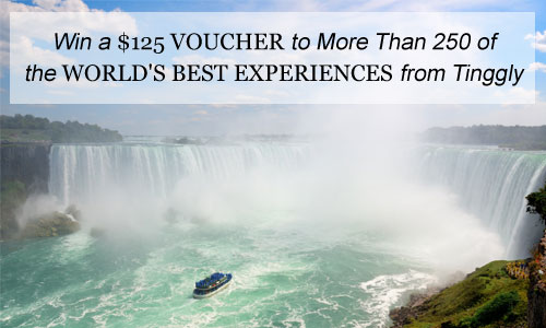 Win a $125 Voucher to More Than 250 of the World's Best Experiences from Tinggly