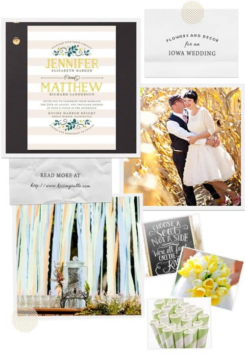 Check out these suggestions for flowers and decor for an Iowa wedding!