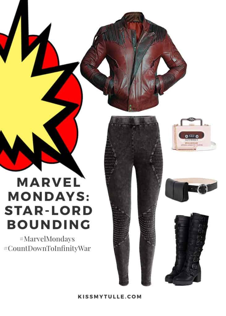 Marvel Mondays: Star-Lord Bounding #MarvelBounding #MarvelMovies #StarLord #GuardiansoftheGalaxy #CountDownToInfinityWar #MarvelMondays