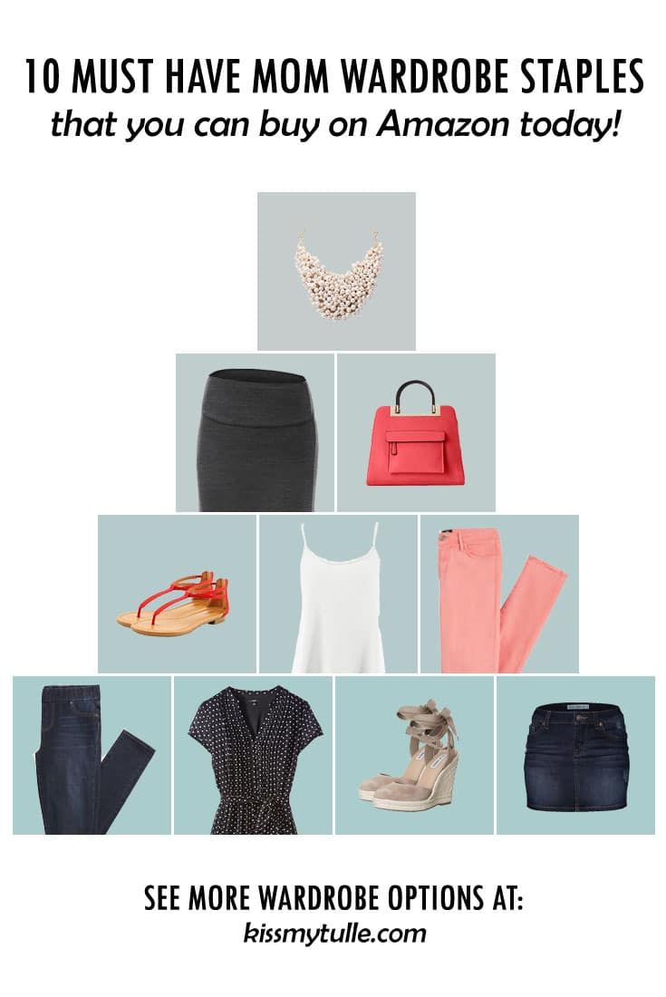 Stop everything you're doing right NOW! You have to check this post out - 10 Must Have Mom Wardrobe Staples That You Can Buy On Amazon! #momdayMonday #fashion #ootd #capsulewardrobe