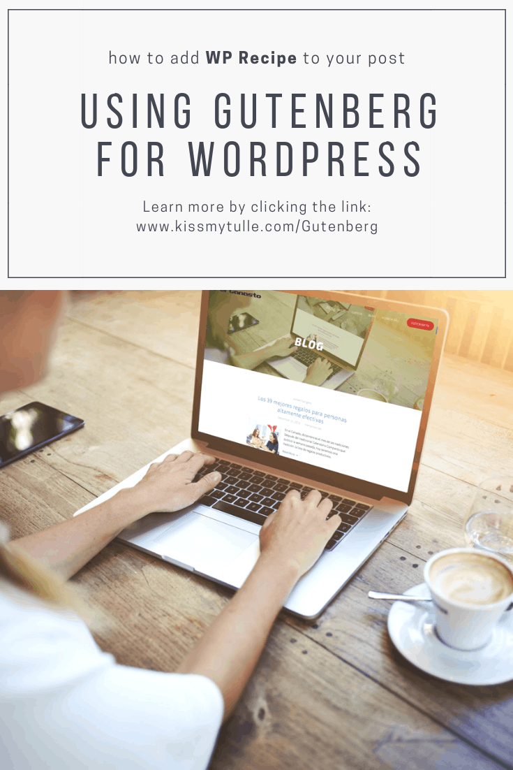 Here's how to add #WPRecipe to your posts in #Gutenberg for #WordPress. #blogging