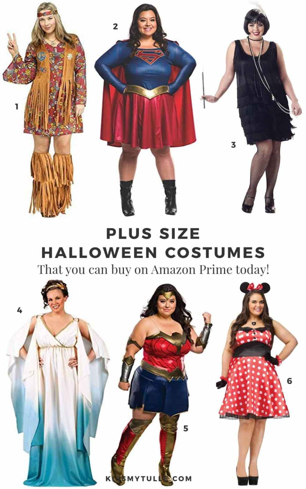 In case y'all are in the same I'm-curvy-but-need-a-last-minute-Halloween-costume bind, here's a few sexy and NOT sexy ones that I found! #AmazonPrime #Halloween #plussize #costume